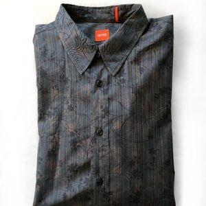 Hugo BOSS floral shirt XXL
